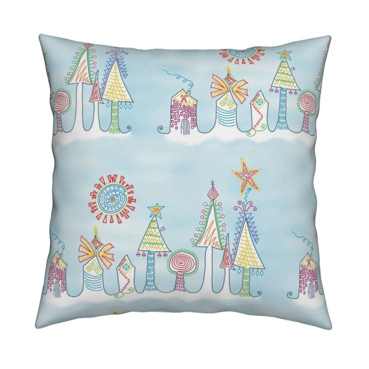 holiday pillow