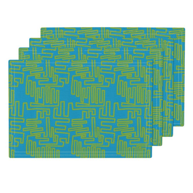 meandering line cw2 lamona placemats