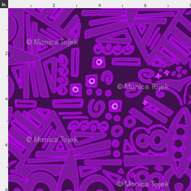 monochromabstract purple