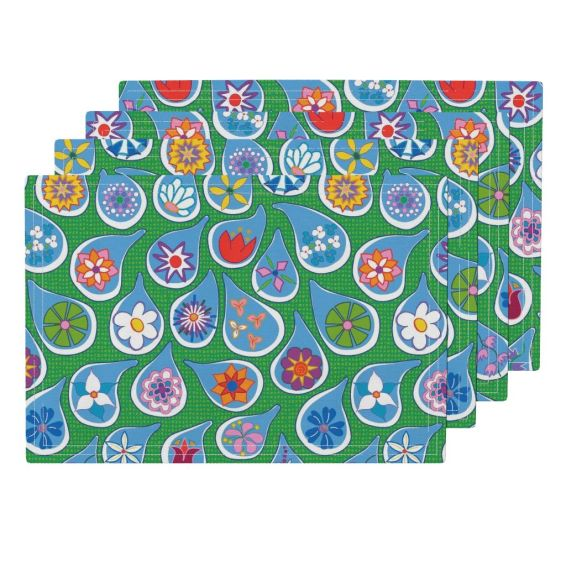 April Showers Bring May Flowers by lalalamonique on Roostery Placemats