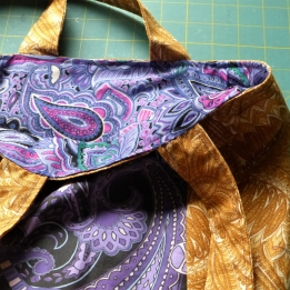 very paisley tote finished 2