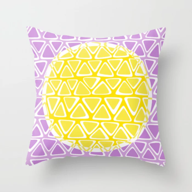 dot 11 throw pillow
