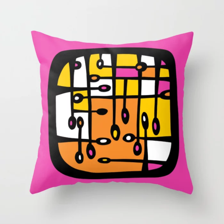 dot 3 throw pillow