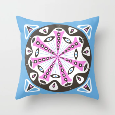 dot 14 throw pillow